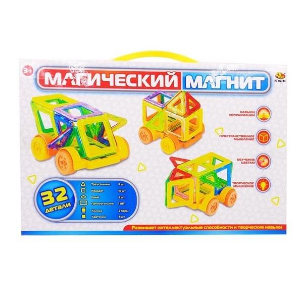 Купить ABTOYS Конструктор Магический магнит , 32 детали [РТ-00744], Пластмасса, металл, Китай, Конструкторы