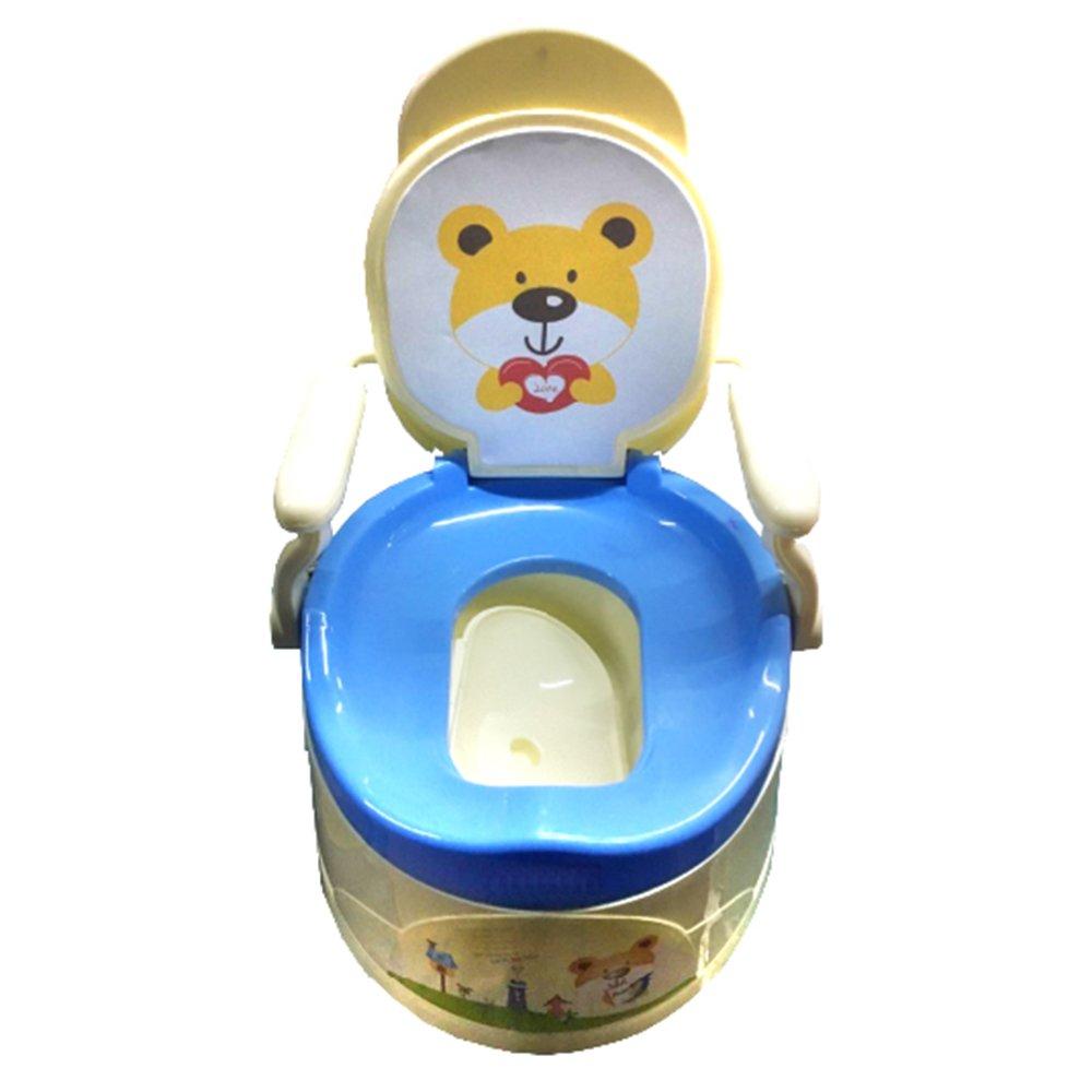 Купить 8803, PITUSO Детский горшок-стульчик ТРОН Голубой BLUE 34, 5*32, 3*47 см, Китай, Горшки и детские сиденья на унитаз