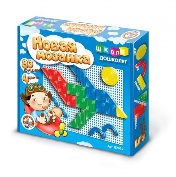 Купить ДЕСЯТОЕ КОРОЛЕВСТВО Мозаика фигурная, 80 элементов [2012], Десятое королевство, Россия, Мозаика для детей