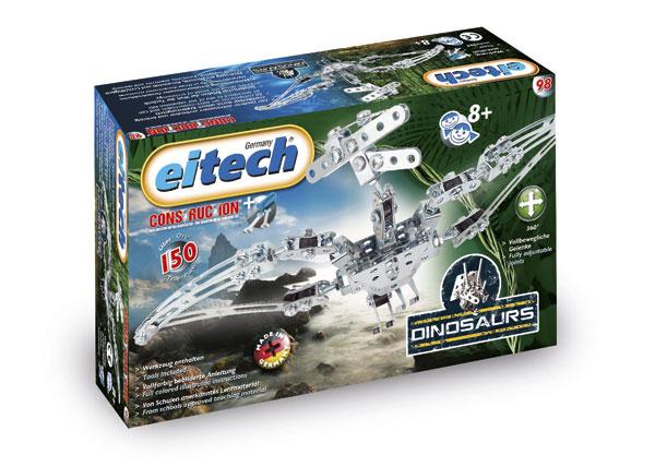Купить Конструктор EITECH 00098 Птеродактель 150 деталей, Металл, Для мальчиков и девочек, Германия, Конструкторы