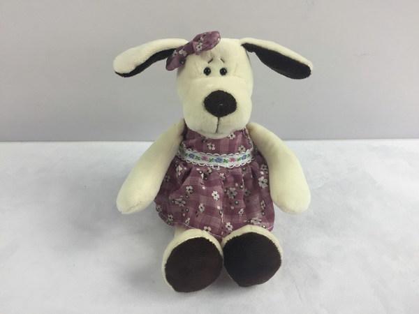 TEDDY Собака в платье, 16 см [YSL18674]
