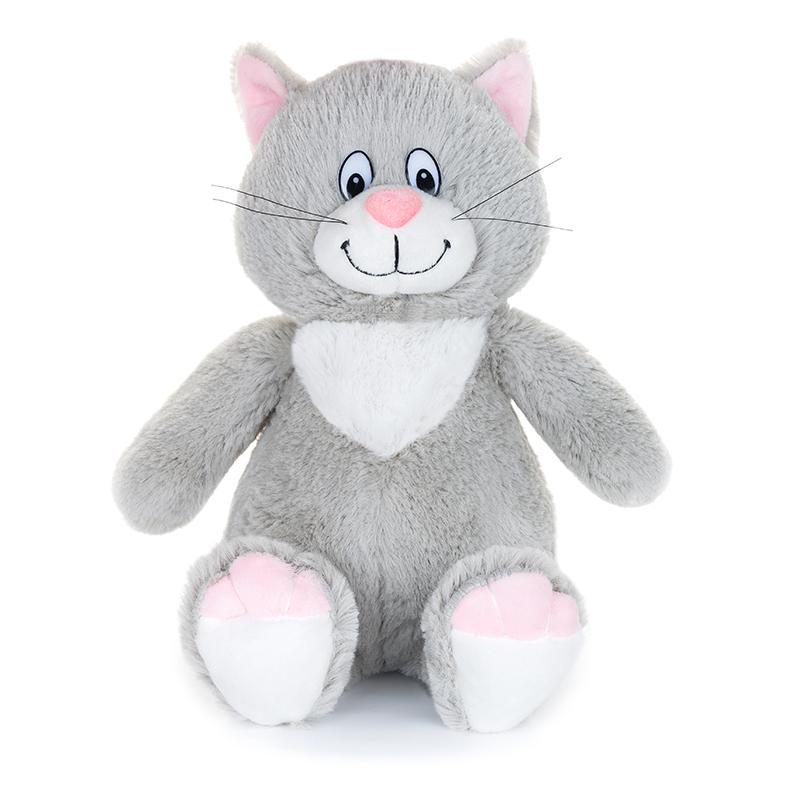 Купить Мягкая игрушка MAXIPLAY MP-071802 Кот Тихон 21 см (озвученный), мех искусственный, полиэтиленовые гранулы, трикотажное волокно, полое полиэфирное волокно, фурнитура из пластмассы., Для мальчиков и девочек, Китай, Мягкие игрушки
