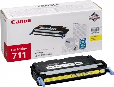 Картинка - Лазерный картридж Canon 711 Yellow (1657B002)