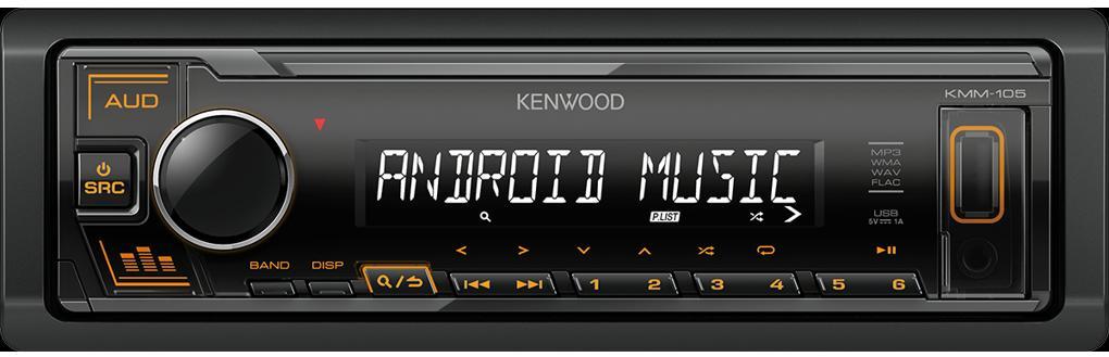 Автомагнитола Kenwood KMM-105AY фото