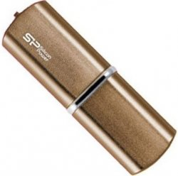 Флеш Диск Silicon Power LuxMini 720 64Gb USB2 bronze SP064GBUF2720V1Z