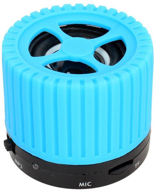 Портативная колонка Ginzzu GM-988C голубой