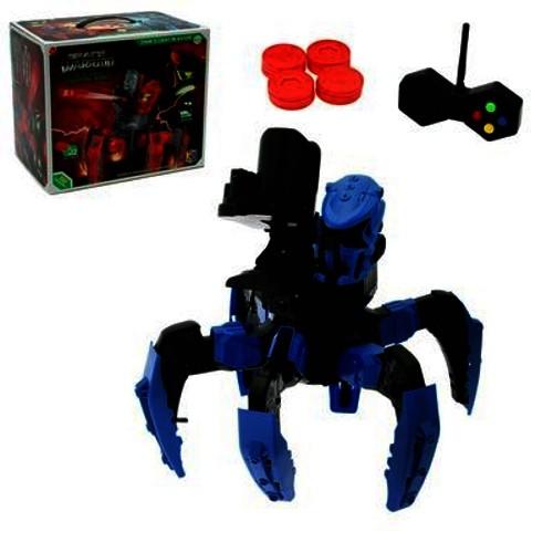 Купить НАША ИГРУШКА Робот радиоуправляемый «Галактический паук», стреляет мягкими дисками, Наша игрушка, Игрушечные роботы и трансформеры