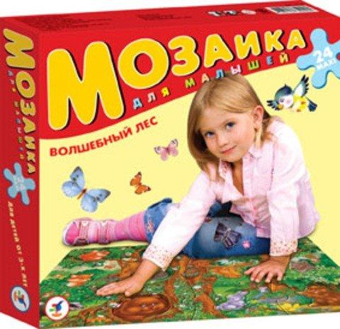 Купить ДРОФА Мозаика для малышей Волшебный лес [1718], Картон, Россия, Мозаика для детей