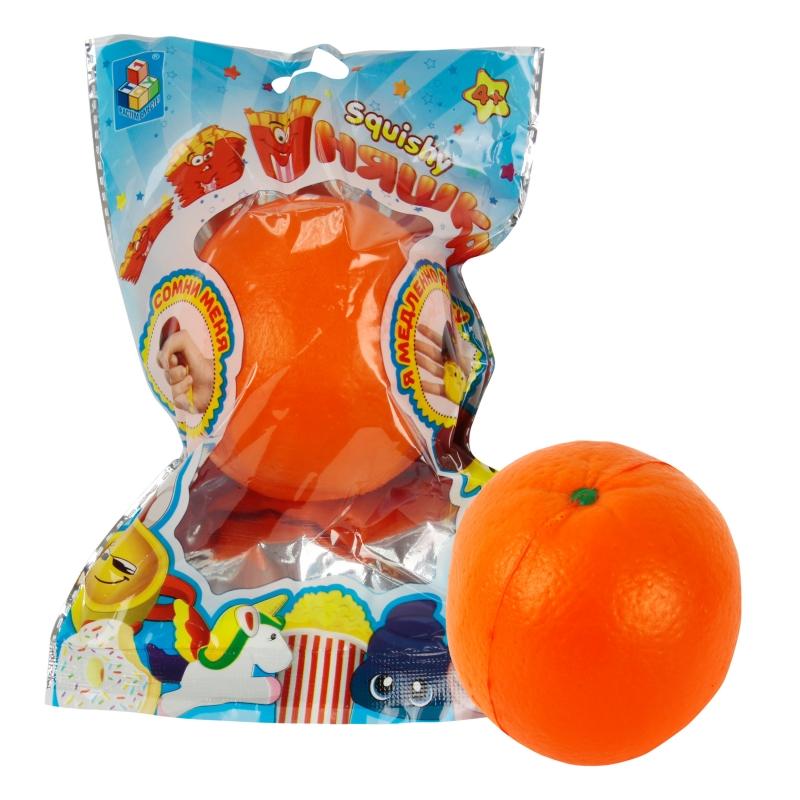 Купить 1 TOY игрушка-антистресс мммняшка squishy (сквиши), апельсин [Т12396], Для мальчиков и девочек, Игрушки-антистресс