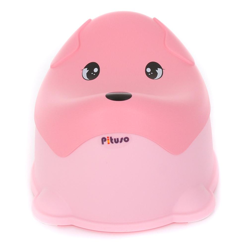 FG338, PITUSO Детский горшок ПЕСИК Розовый PINK 36.6*30.8*24 см, Китай, Горшки и детские сиденья на унитаз  - купить со скидкой