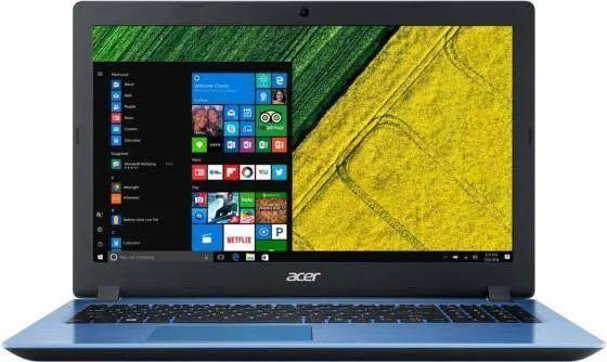 Купить Ноутбук Acer Aspire A315-51-54VT (NX.GS6ER.003) синий, Синий, Китай