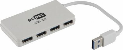 Разветвитель USB 3.0 PC Pet BW-U3013A White