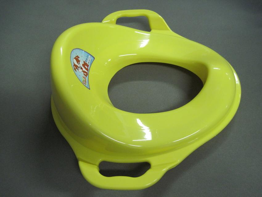 Купить DUNYA PLASTIK Накладка на унитаз с ручками, жёлтая [11107], Горшки и детские сиденья на унитаз