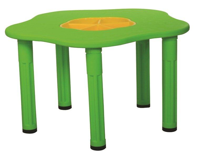 Купить KING KIDS Детский столик Сэнди , с системой хранения мелочей, цвет Зеленый [KK_KM1200_G], зеленый, Парты и столы