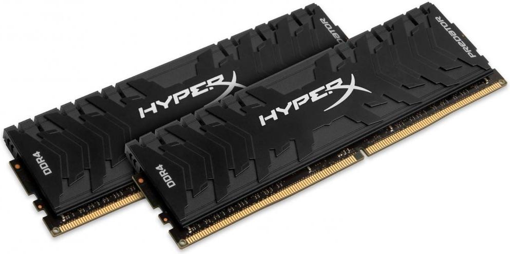 Оперативная память DIMM 16 Гб DDR4 3333 МГц HyperX Predator (HX433C16PB3K2/16) PC-26600, 2x 8 Гб KIT фото