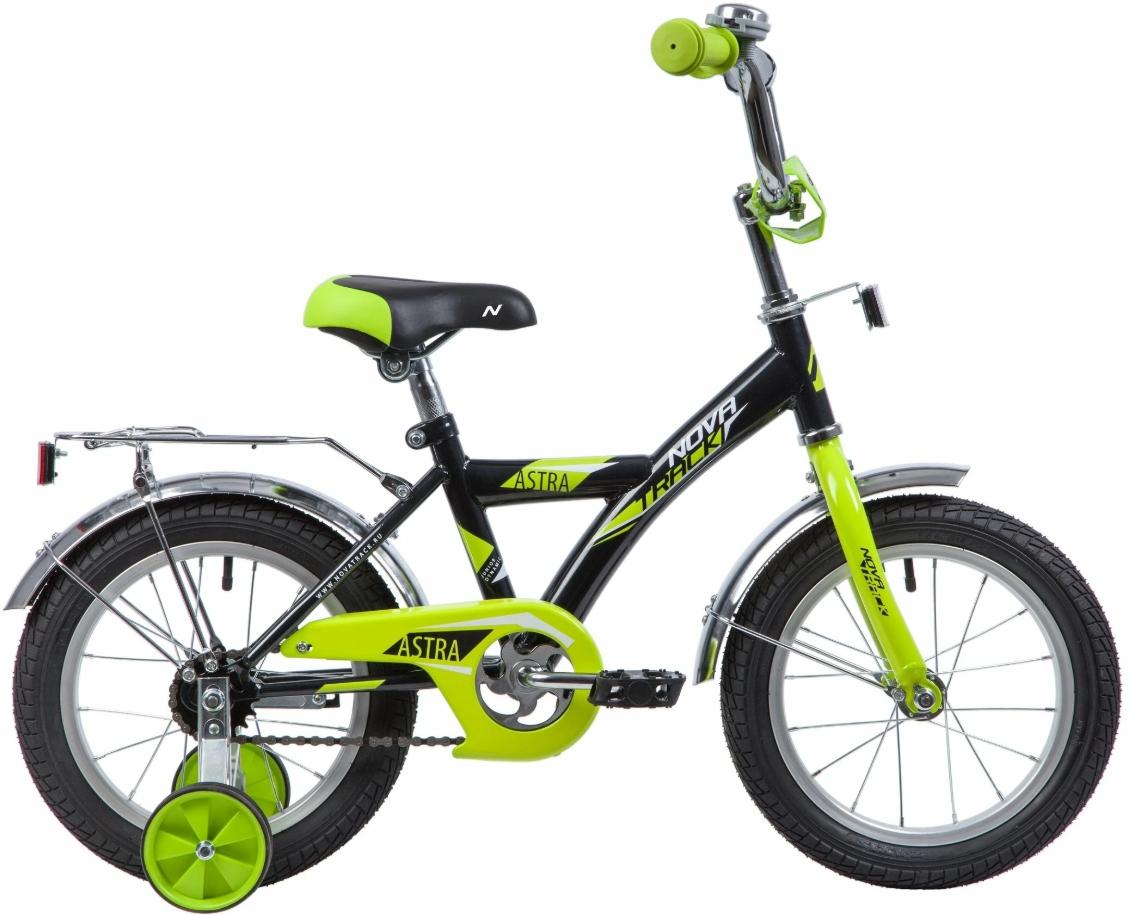 Купить NOVATRACK Велосипед детский Astra (2019), черный [163ASTRABK9], Велосипеды для взрослых и детей