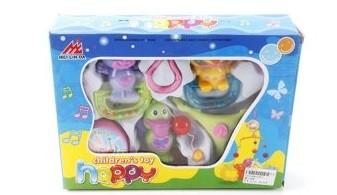 Купить НАША ИГРУШКА Подвеска муз.зав. Утенок [2303], пластик, Подвески для малышей