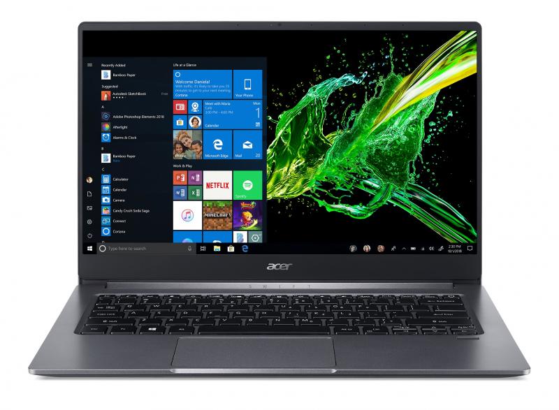 Ноутбук Acer Swift 3 SF314-57-374R (NX.HJFER.006) серый фото