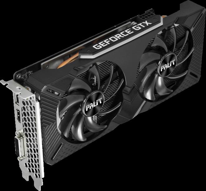 Купить Видеокарта nVidia GeForce GTX1660 Palit Dual PCI-E 6144Mb (NE51660018J9)