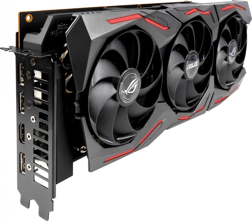Видеокарта 8 Гб Asus ROG AMD Radeon RX 5700 ROG Strix O8G Gaming (ROG-STRIX-RX5700-O8G-GAMING)  - купить со скидкой