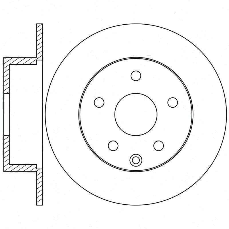 Картинка - Диск тормозной задний NIBK RN1302