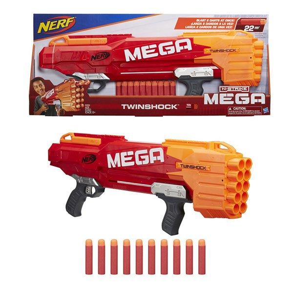 Купить HASBRO Игрушка Nerf Твиншок (бластер) [B9894], Игрушечное оружие и бластеры