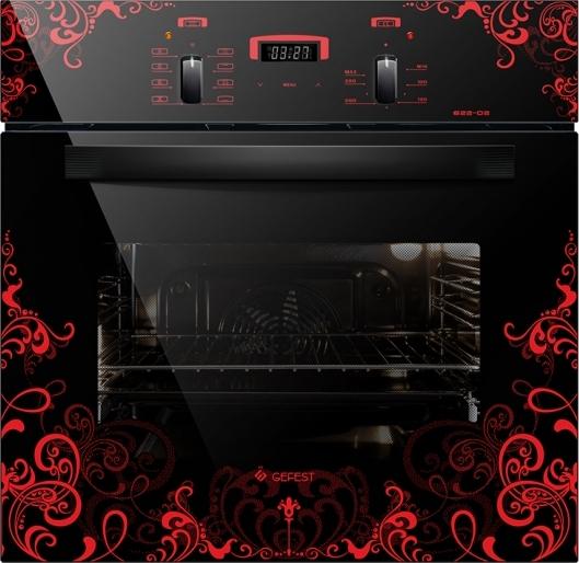 Духовой шкаф Gefest ЭДВ ДА 622-02 К16 Glass Black фото