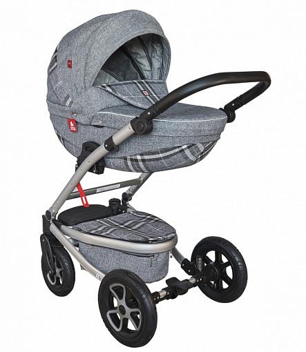 Купить TUTEK Детская коляска Timer NTM2C/SR , 3 в 1 [УТ-0002454NTM2C/SR], пластик, Металл, Текстиль, Детские коляски