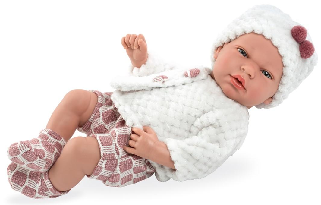 Купить MUNECAS ARIAS Пупс ARIAS Elegance с соской, 40 см, [Т13733], 480 x 260 x 170 мм, Текстиль, винил, Куклы и пупсы