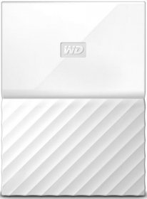 Внешний жесткий диск 2Tb Western Digital My Passport White (WDBLHR0020BWT)