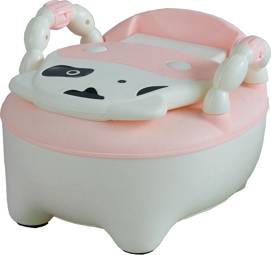 Купить PITUSO Детский горшок БУРЕНКА Розовый PINK 36, 5x31, 5x46 см [DA-6808B], Горшки и детские сиденья на унитаз