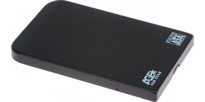 Купить Внешний корпус для HDD AgeStar SUB2O1/USB 2.0/Black, Китай