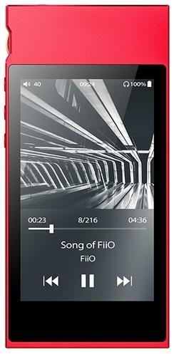 Плеер Fiio M7 красный