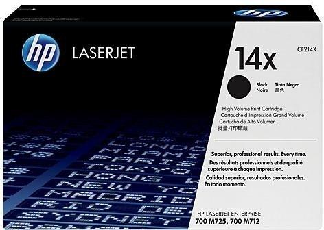 Лазерный картридж HP 14X Black (CF214X) фото