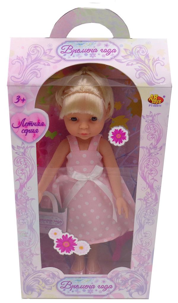 Купить ABTOYS Кукла Времена года (30 см), PT-00511 [PT-00511], в ассортименте, пластик, Текстиль, Для девочек, Куклы и пупсы