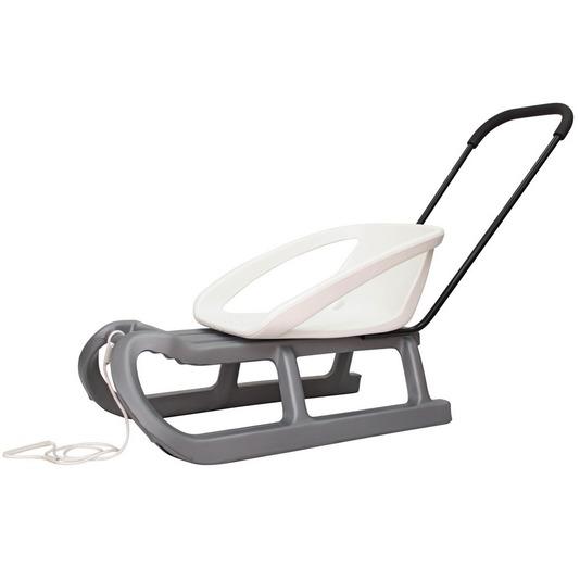 Купить Детские санки Торнадо-1 (серо-белый) [1636619], Gismo riders, Санки и аксессуары