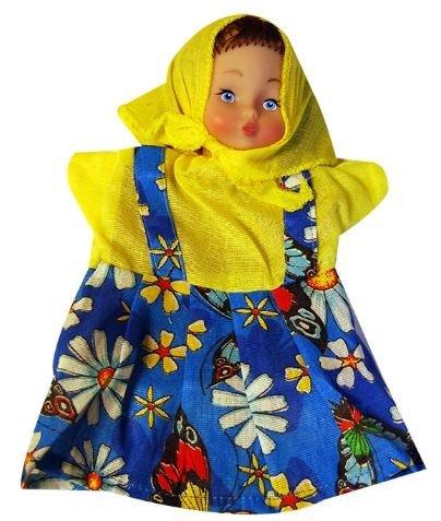 Купить РУССКИЙ СТИЛЬ Кукла-перчатка Внучка [11011], Русский стиль, Россия, Кукольный театр
