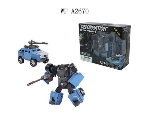 Купить JUNFA TOYS Робот трансформер (синий) [A1005-01], Металл, Китай, Игрушечные роботы и трансформеры