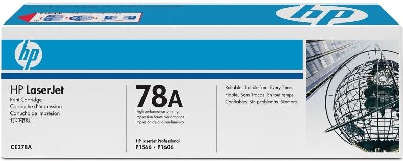 Набор лазерных картриджей HP 78A Black (CE278AF) фото