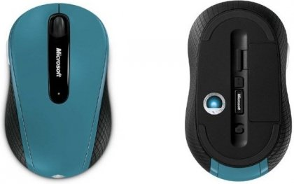 Мышь Microsoft Wireless Mouse 4000 Nano USB Blue