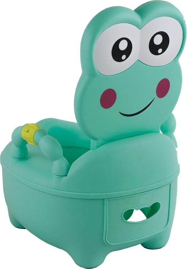 Купить PITUSO Детский горшок ЛЯГУШОНОК Зеленый GREEN 36, 5x31, 5x46 см [1715], Горшки и детские сиденья на унитаз