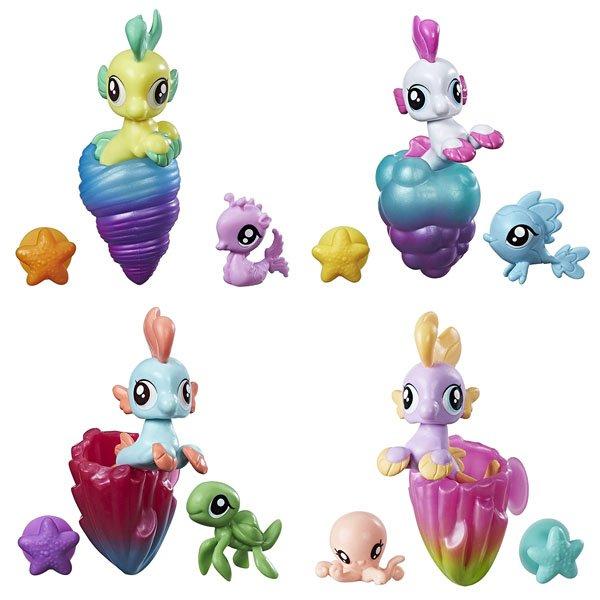 Купить HASBRO My Little Pony Movie. Мерцание Пони малыши-гипогрифы (пони-подружки) [C0719EU4], Игровые наборы и фигурки для детей