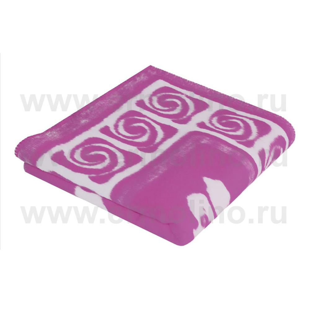 Купить ЕРМОЛИНО Одеяло детское байковое х/б 118x100 Фиолетовый [57-6ЕТ Ж], Россия, Покрывала, подушки, одеяла для малышей
