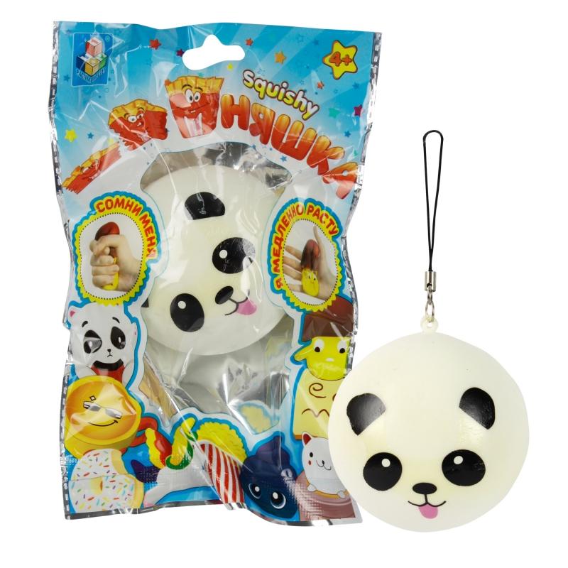 Купить 1 TOY игрушка-антистресс мммняшка squishy (сквиши), шар-панда [Т12432], Для мальчиков и девочек, Игрушки-антистресс