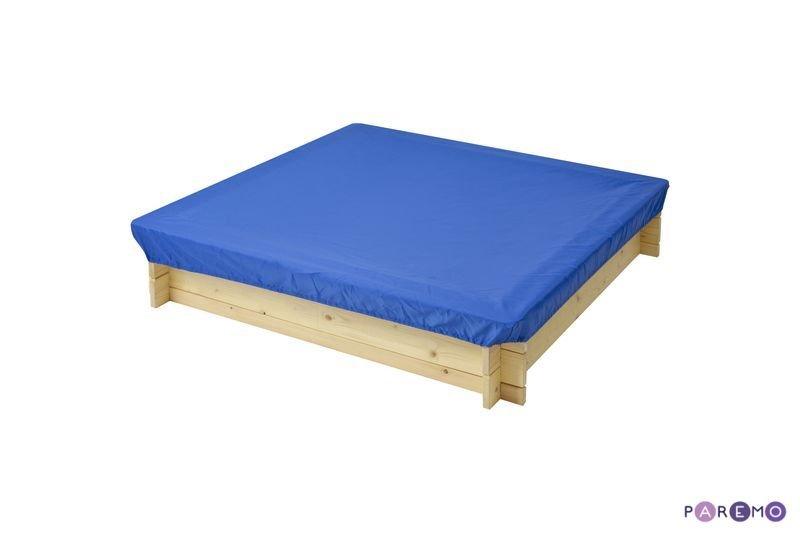 Купить PAREMO Защитный чехол для песочниц PAREMO, цвет Синий [PS116-03], синий, 120 x 120 x 30 см, тентовая ткань, Детские песочницы