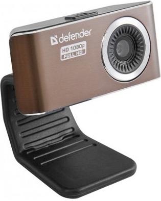 Веб-камера Defender G-lens 2693 FullHD Brown 63693