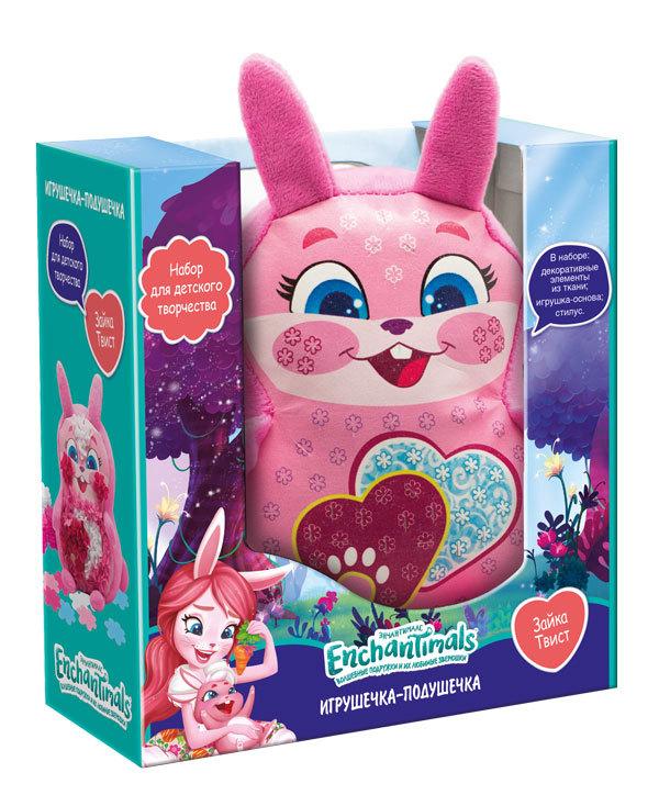 Купить ENCHANTIMALS Набор для творчества Игрушка-подушка. Зайка Твист [4006], розовый, Товары для изготовления кукол и игрушек