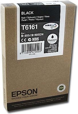 Струйный картридж Epson T6171 Black (C13T617100) фото