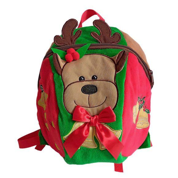 Купить НАША ИГРУШКА Рюкзачок Олень 27*26 см [STA1513-deer], Shantou, текстиль, пластик, металл, Рюкзаки и ранцы для школы