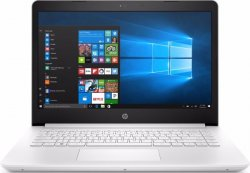 Ноутбук HP 14-bp012ur (1ZJ47EA) White
